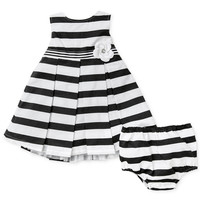 Little Me Baby Girls' Striped Dress