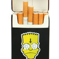 POSSESSED BART CIGARETTES CASE