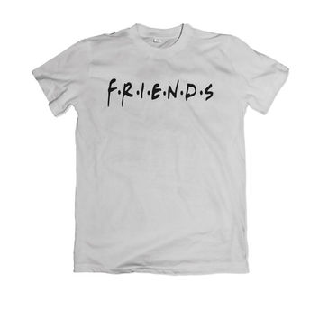 Friends TV Show Jennifer Aniston Central Park Theme Unisex Men Women T-shirt Shirt Top Tee MV3