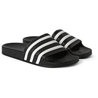 adidas Originals - Adilette Textured-Rubber Slides | MR PORTER