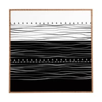 Viviana Gonzalez Black and white collection 01 Framed Wall Art
