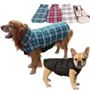 Flannel Dog Vest