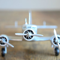 Vintage Air France Model Airplane