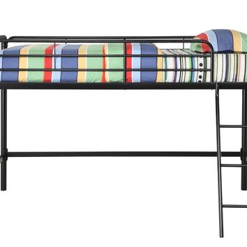 Anzy Twin Junior Loft Metal Bunk Bed In Different Colors