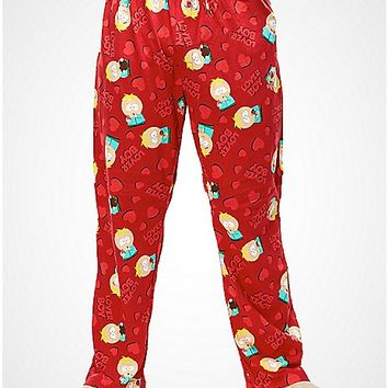 South Park Lover Boy Sleep Pant - Spencer's