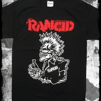 Rancid - Skull 40 oz. t-shirt