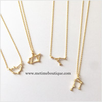 Zodiac Collection Necklaces GOLD - All Zodiac Signs