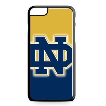 Notre Dame Fighting Irish Logo iPhone 6 Plus Case