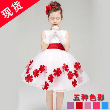 Kids Girls Baby Dress Products For Children = 4457624260