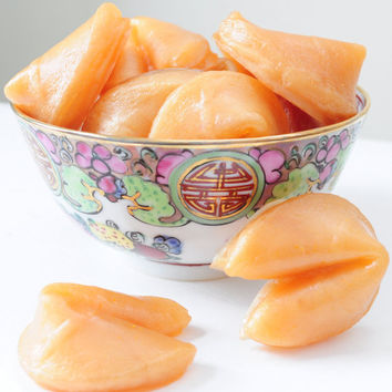 Fortune Cookies Soaps  4 oz  scented Vanilla by AubreyEApothecary