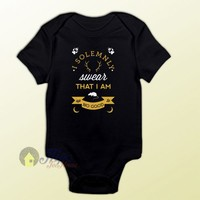 I Solemnly Swear Harry Potter Quote Baby Onesuit – MPCTeeHouse
