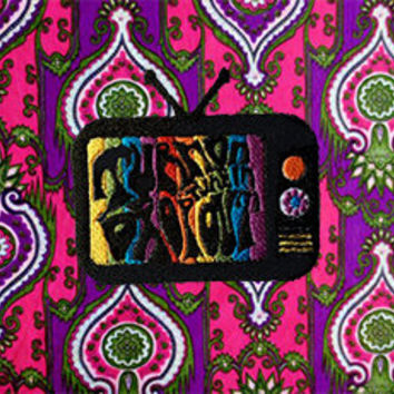 Turn On Tune In Drop Out Patch /// Psychedelic TV /// Spirituality