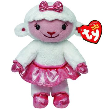 "Ty Beanie Boos Plush Animal Doll Doc Mcstuffins Check Up Time Lambie Sheep Soft Stuffed Toys With Tag 6"" 15cm"