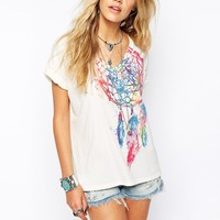 Denim & Supply By Ralph Lauren Dream Catcher T-Shirt