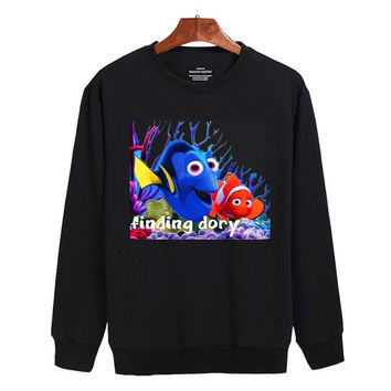 Finding Dory Sweater sweatshirt unisex adults size S-2XL