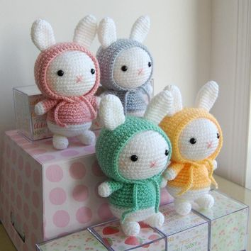 Bunny Gurumi Crochet Pattern by LuvlyGurumi on Etsy