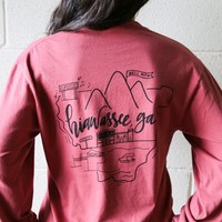 Hiawassee Love Tee | The Scribble Studio