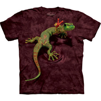 Gecko Giving Peace Kids T-Shirt