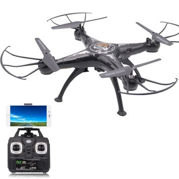 Helicopter Drone Dron HD Camera Toy Quadrocopter Remote Control