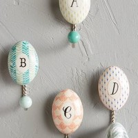 Mr. Boddington's Studio Whimsy Monogram Hook in Assorted Size:
