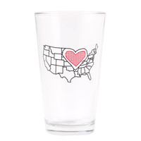 Heartland Pint Glass