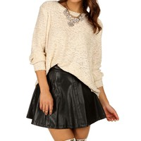 Sale-ivory Sequin Holiday Sweater