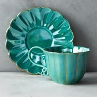 Philomena Cup & Saucer by Anthropologie