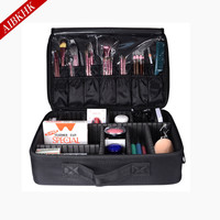 2017 Professional Makeup Bag Women Cosmetic Bags&Case High Quality Oxford Female Korean Makeup Box Large Capacity Wash Bags