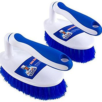MR. SIGA Scrub Brush - Pack of 2