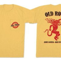 """Old Row """"Fire It Up"""" Pocket Tee"""