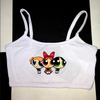 SWEET LORD O'MIGHTY! POWERPUFFGIRLS BRALET