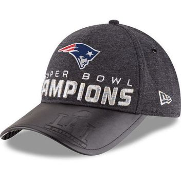 ONETOW NFL New England Patriots New Era Super Bowl LI Champions Trophy Collection Locker Room 9FORTY Adjustable Hat