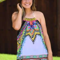 Colorfully Yours Halter Top