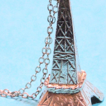 Eiffel Tower Solid Sterling Lancome Paris Limited Edition 1960's Vintage Piece, Wow Gift Idea