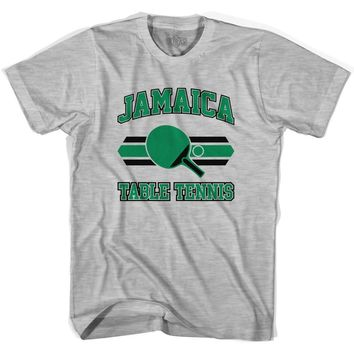 Jamaica Table Tennis Adult Cotton T-shirt