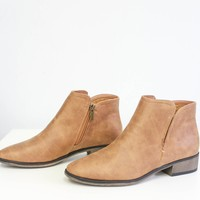 Winifred Booties - Camel