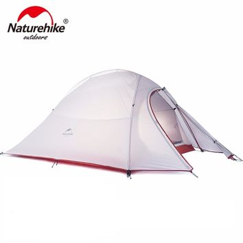 NatureHike 2 Man Camping Tent Outdoor Hiking Backpacking Cycling Ultralight Waterproof 2 Person Camp Tent 2018 Updated Version