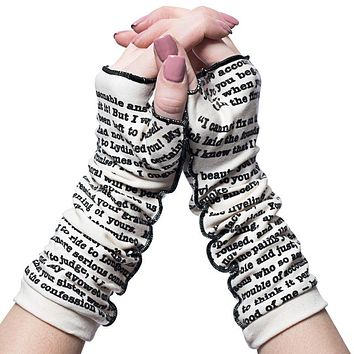 Pride and Prejudice Writing Gloves