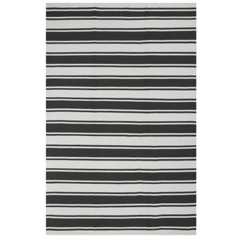 Indoor/Outdoor Rug Grey/White