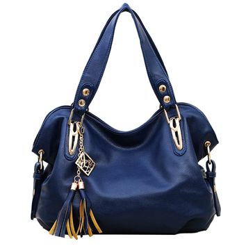 Luxury Ladies Genuine Leather Shoulder Bag Satchel Cross Body Tote Handbag