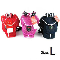 Large Dog Backpack with Leash-Colors Pink