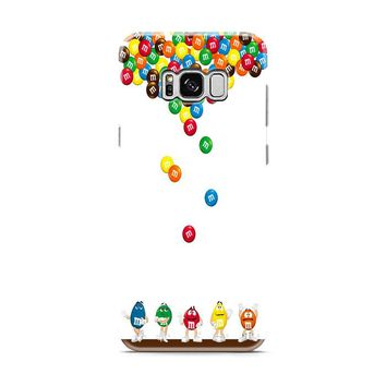 M&M's Candies Fall Samsung Galaxy S8 | Galaxy S8 Plus case