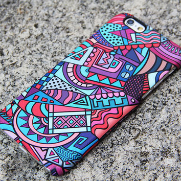 African Art iPhone 6 case iPhone 6 plus Case iPhone 5 iPhone 5C iPhone 4S/4 Case Samsung Galaxy S6 edge S6 S5 S4 S3 Note 2 Note 3 Case 053