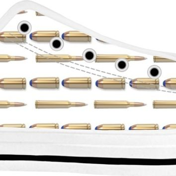 Bullets Shoes White/White Low Tops