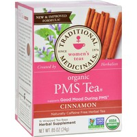 Traditional Medicinals PMS Cinnamon Herbal Tea - 16 Tea Bags