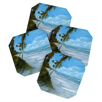Rosie Brown Shady Spot Coaster Set