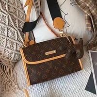 LV Simple Classic Presbyopia Flap Shoulder Bag