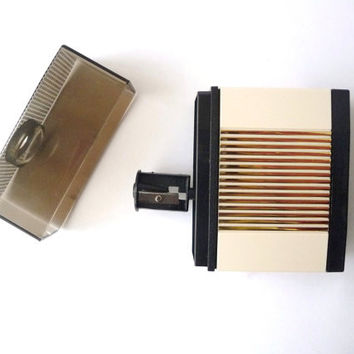 Vintage Pencil Sharpener - Mechanical - Battery Power