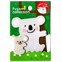 Mother and Baby Koala Bear Shaped Animal Themed Memo Pad Post-it Sticky Note Pad