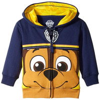 Paw Patrol - Chase Big Face Toddler Zip Hoodie